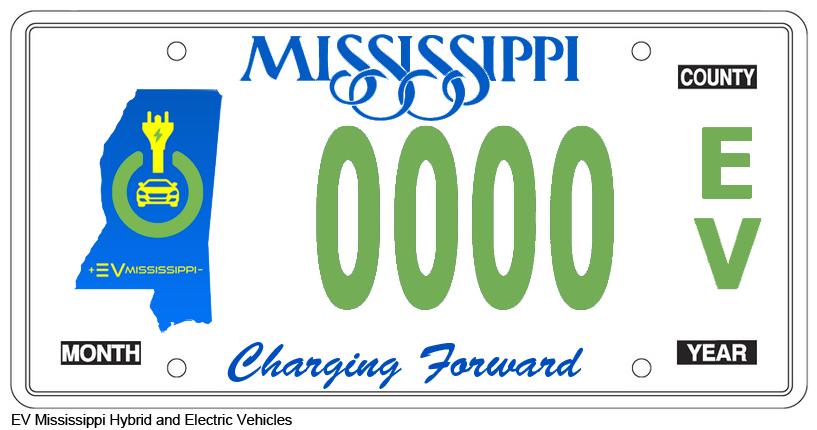 EV Mississippi Specialty Tag